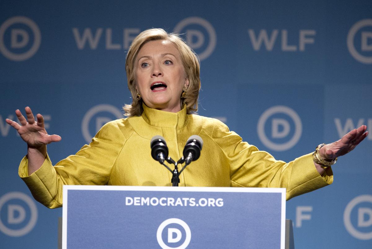 Hillary Clinton is headed to Atlanta on Friday