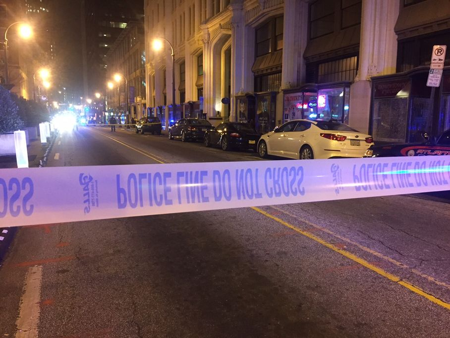 Police investigate triple shooting near GSU campus
