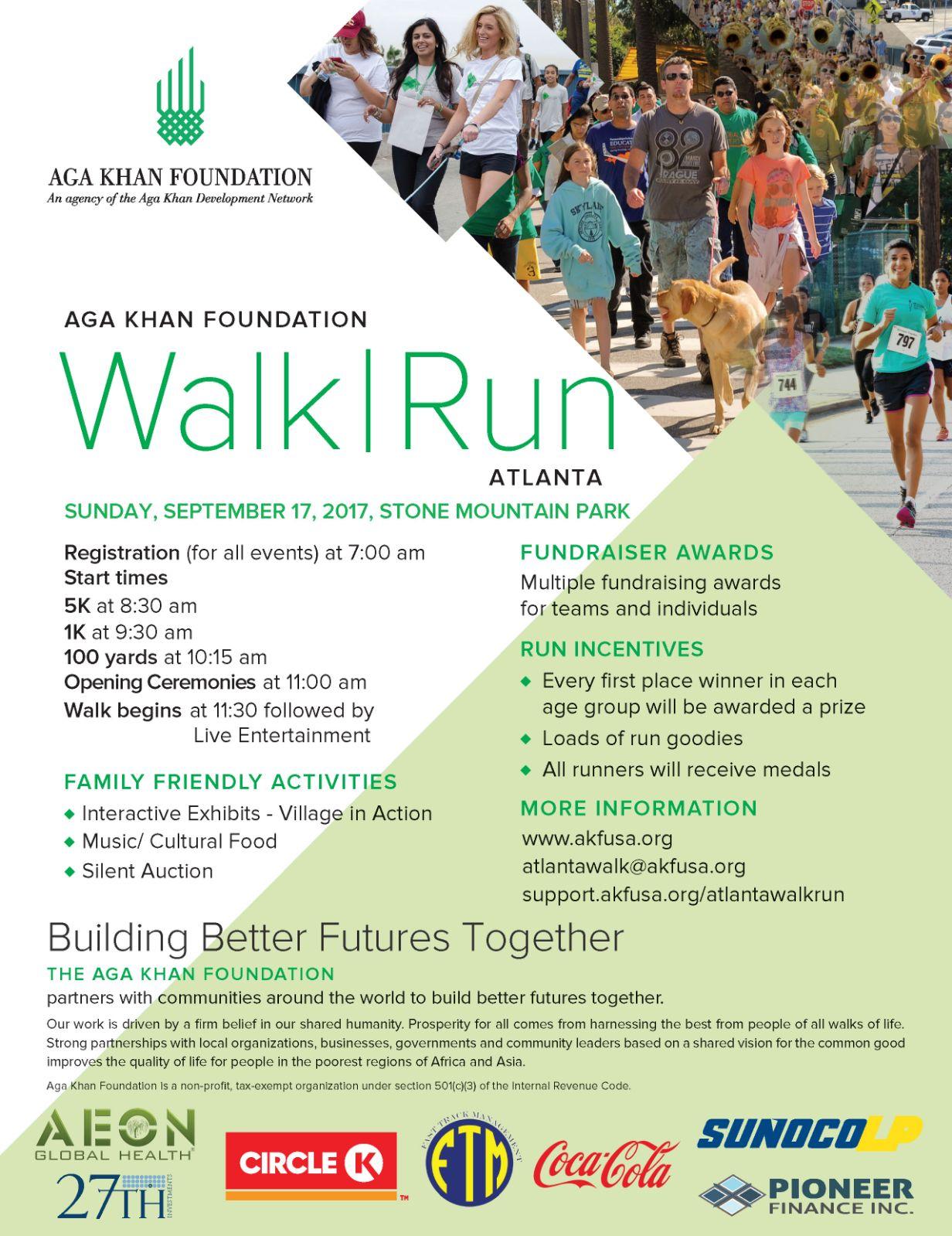 Aga Khan Foundation National Walk|Run – ATLANTA 2017